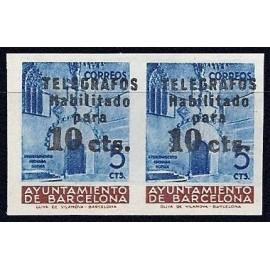 1936 ED. Barcelona - Telégrafos 9es (*)