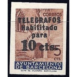 1936 ED. Barcelona - Telégrafos 9s (*)