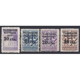 1942-1945 ED. Barcelona - Telégrafos 17/20 *