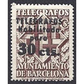 1942-1945 ED. Barcelona - Telégrafos 20 *