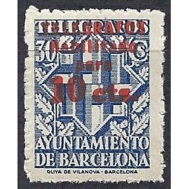 1942-1945 ED. Barcelona - Telégrafos 18hcc **