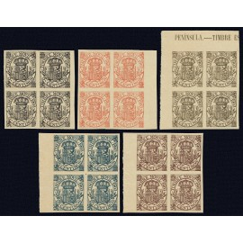 1903 ED. Fiscales Alemany 74s/78s (*) [x4]