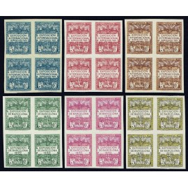 1929-1931 ED. Barcelona 01s/06s ** [x4]