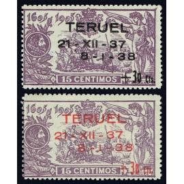 1938 ED. NE 32/33 ** (2)