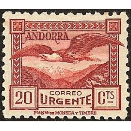 1931 ED. Andorra 27dN *