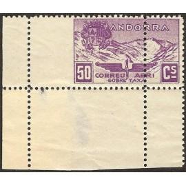 1932 ED. Andorra NE 14ddv **