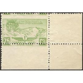 1932 ED. Andorra NE 15dx **