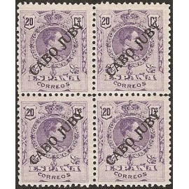 1922 ED. Cabo Juby 21 ** [x4]