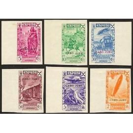 1938 ED. Cabo Juby Beneficencia 1s/6s *