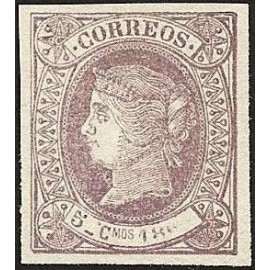 1866 ED. Cuba 13it *