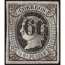 1866 ED. Cuba 17A *