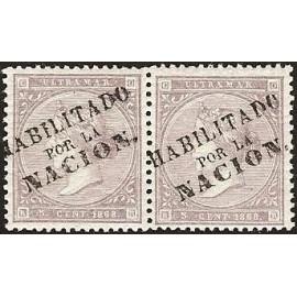 1868 ED. Cuba 22A *