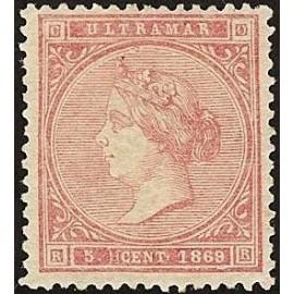 1869 ED. Cuba 23 *