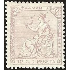 1871 ED. Cuba 25 *