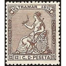 1874 ED. Cuba 27 *