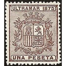 1875 ED. Cuba 34 *