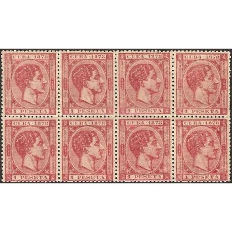 1878 ED. Cuba 49 * [x8]