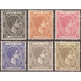 1879 ED. Cuba 50/55 *