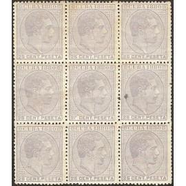 1880 ED. Cuba 59/59it * [x9]
