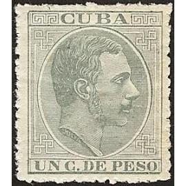 1883 ED. Cuba 95 *