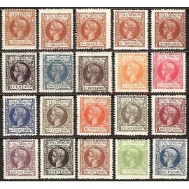 1898 ED. Cuba 154/173 **
