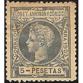 1903 ED. Elobey, Annobón y Corisco 17N *