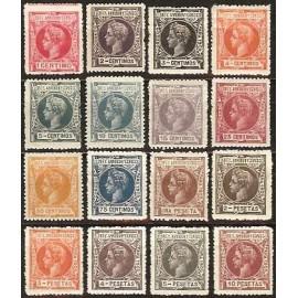1905 ED. Elobey, Annobón y Corisco 19N/34N *