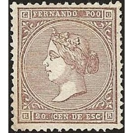 1868 ED. Fernando Poo 1 *