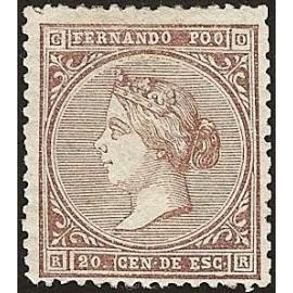 1868 ED. Fernando Poo 1 * (2)
