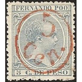 1896 ED. Fernando Poo 40B *