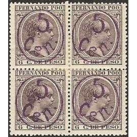 1896 ED. Fernando Poo 40Chcc * [x4]