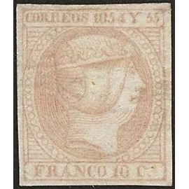 1854 ED. Filipinas 2b *