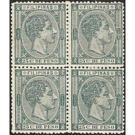 1876 ED. Filipinas 40 * [x4]