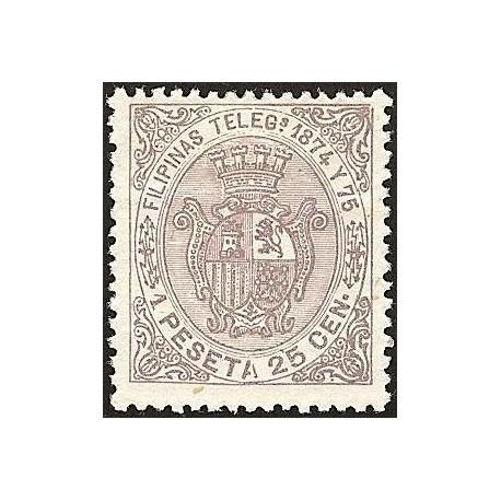 1874 ED. Filipinas Telégrafos 1 *