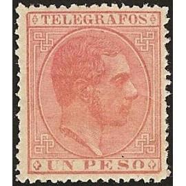 1886 ED. Filipinas Telégrafos 18 *