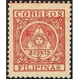 1898 ED. Filipinas Correo Insurrecto 4 *