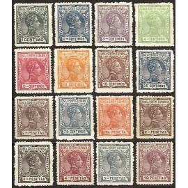 1907 ED. Guinea 43N/58N *