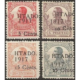 1918 ED. Guinea 124/127 **