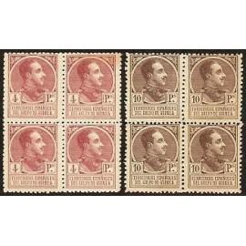 1919 ED. Guinea 139N/140N ** [x4]