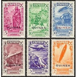 1943 ED. Guinea Beneficencia 12/17 **