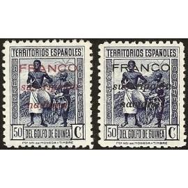 1937 ED. Guinea Locales 13/14 **