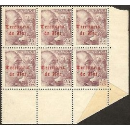 1948 ED. Ifni 43/43it ** [x6]