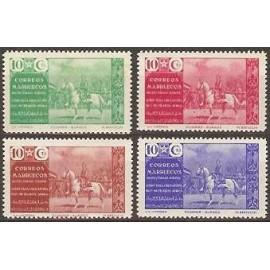 1941 ED. Marruecos Beneficencia 13/16 **