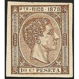 1878 ED. Puerto Rico 19s *