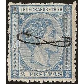 1876 ED. Puerto Rico Telégrafos 14 * (2)