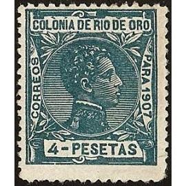 1907 ED. Río de Oro 31ec *