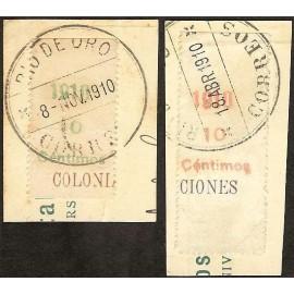 1910 ED. Río de Oro 55MP/56MP us