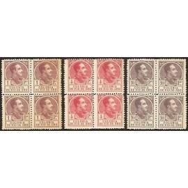 1919 ED. Río de Oro 114N/116N ** [x4]