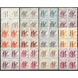 1932 ED. Sahara 36A/47A ** [x4]