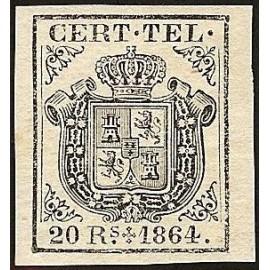 1864 ED. Telégrafos 4 *